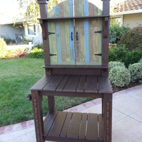 Brown-with-drywash-bench