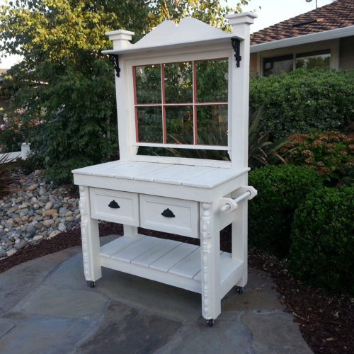 White-with-red-trim-benchjpg